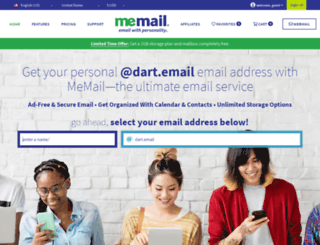 dart.email screenshot