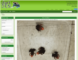 dartden.com screenshot