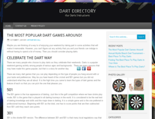 dartdirectory.com screenshot