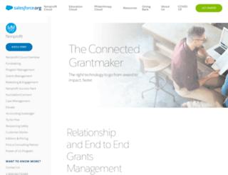 dartfoundation.foundationconnect.org screenshot