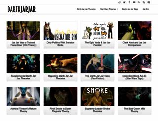 darthjarjar.com screenshot