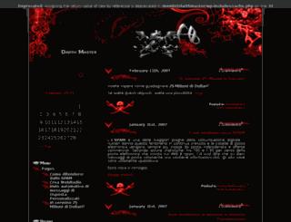 darthmaster.altervista.org screenshot