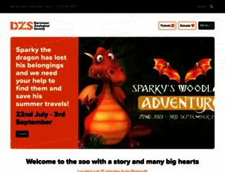 dartmoorzoo.org screenshot