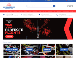 dartswarehouse.nl screenshot