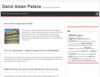 darulamanpalace.com screenshot