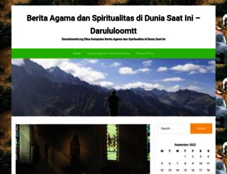 darululoomtt.org screenshot