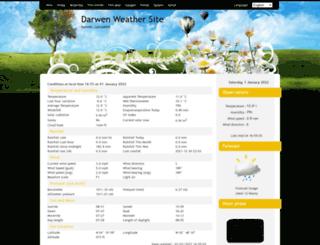 darwenweather.com screenshot