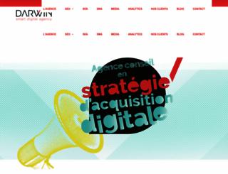 darwin-agency.com screenshot