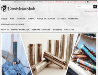 darwinmistmods.com.au screenshot