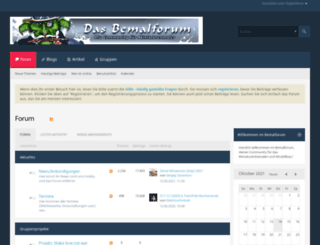 das-bemalforum.de screenshot
