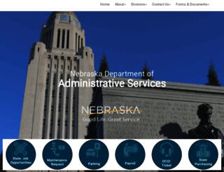 das.nebraska.gov screenshot