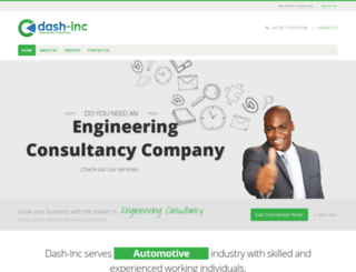 dash-inc.co.za screenshot