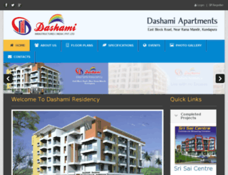 dashamiinfrastructure.com screenshot