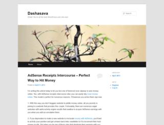 dashasava.wordpress.com screenshot