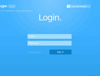 dashboard.cpv.li screenshot