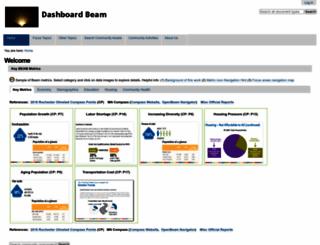 dashboard.dmcbeam.org screenshot