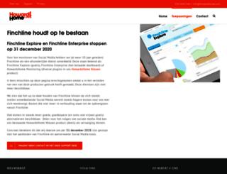 dashboard.finchline.nl screenshot