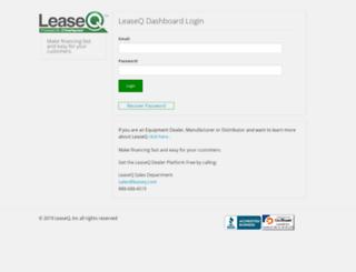 dashboard.leaseq.com screenshot
