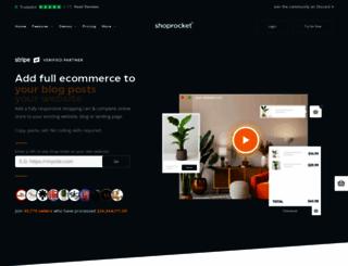 dashboard.shoprocket.co screenshot
