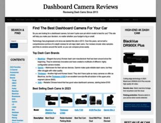 dashboardcamerareviews.com screenshot