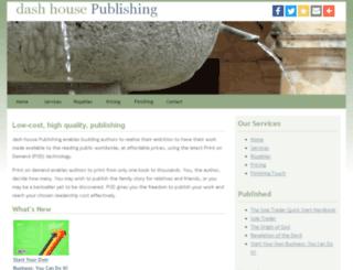 dashhousepublishing.co.uk screenshot