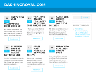 dashingroyal.com screenshot