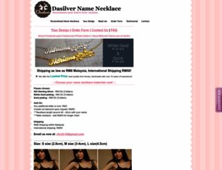 dasilver.webs.com screenshot