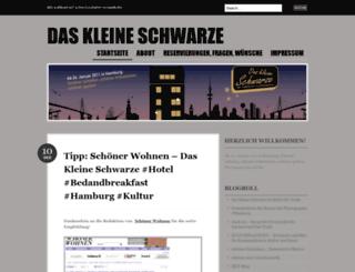 daskleineschwarzehamburg.wordpress.com screenshot