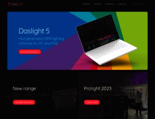 daslight.com screenshot