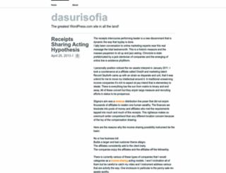 dasurisofia.wordpress.com screenshot