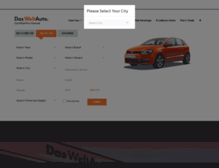 dasweltauto.co.in screenshot