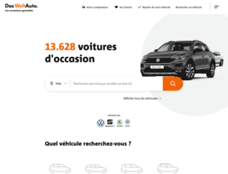 dasweltauto.fr screenshot