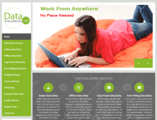 data-entry-works.com screenshot