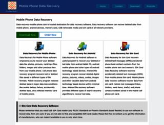data-recovery-mobile-phone.com screenshot