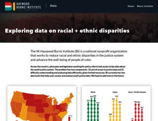 data.burnsinstitute.org screenshot