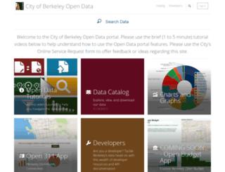 data.cityofberkeley.info screenshot