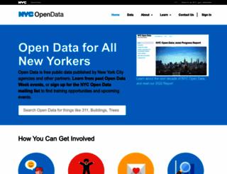 data.cityofnewyork.us screenshot