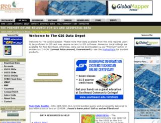 data.geocomm.com screenshot