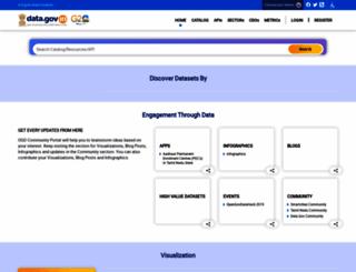 data.gov.in screenshot