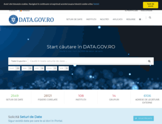 data.gov.ro screenshot