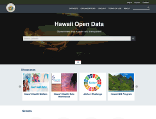 data.hawaii.gov screenshot