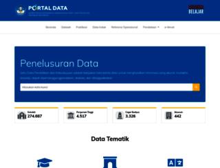 data.kemdikbud.go.id screenshot