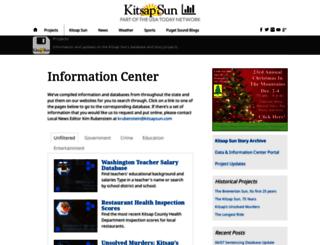 data.kitsapsun.com screenshot