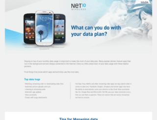 data.net10.com screenshot