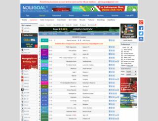 data.nowgoal.cc screenshot