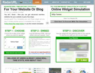 data.radarurl.com screenshot