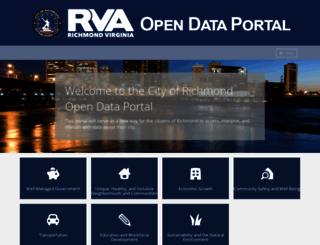 data.richmondgov.com screenshot