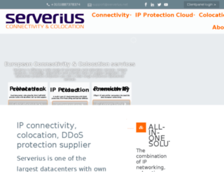data.serverius.eu screenshot
