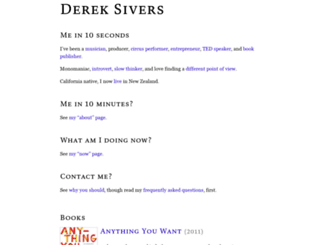 data.sivers.org screenshot