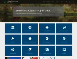 data.strathcona.ca screenshot